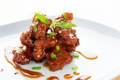 Chinesische Schweinsrippchen Stockfoto