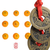 Chinesische Serie des neuen Jahres Stockbild