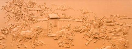 Chinesische Skulptur lizenzfreie stockfotos