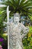 Chinesische Statue lizenzfreie stockbilder