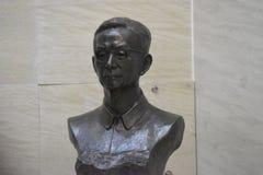 Chinesische Statue im Whuhan-Stadtzentrum stockbilder