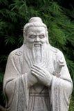 Chinesische Statue von Konfuzius Stockfotos