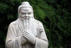 Chinesische Statue von Konfuzius Lizenzfreies Stockfoto