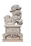Chinesische Steinstatue stockfotografie