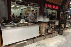 Chinesische Straßenküche Stockfotografie
