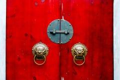 Chinesische Tür Stockfoto