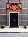 Chinesische Türen Stockbild