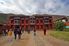 Chinesische Tempel: LaBuLengSi stockfoto