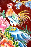 Chinesische Tempel-Wand-Kunst Lizenzfreies Stockfoto