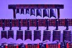 Chinesische traditionelle alte Glocken stockfoto