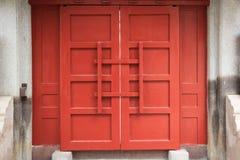 Chinesische traditionelle Tür Stockbild