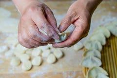 Chinesische traditionelle Teigwaren, Mehlklöße Lizenzfreie Stockfotografie