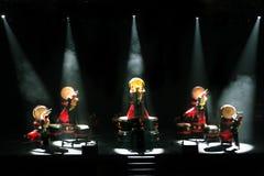 Chinesische traditionelle Trommel Stockbilder