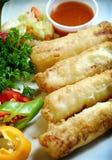 Chinesische und vietnamesische Nahrung Lizenzfreie Stockfotografie