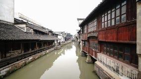 Chinesische Wasserstadt Stockbild
