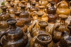 Chinesische Wein-Tonwaren Lizenzfreie Stockfotografie