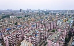 Chinesische Wohnsitz-Gemeinschaft Stockbild