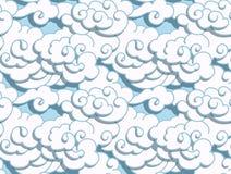 Chinesische Wolken Lizenzfreies Stockfoto