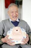 Chinesischer alter Mann Stockbilder