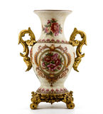 Chinesischer antiker Porzellanvase Lizenzfreies Stockbild