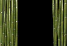 Chinesischer Bambushintergrund Lizenzfreies Stockbild