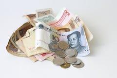 Chinesischer Bargeldumlauf Lizenzfreies Stockbild