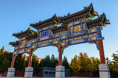 Chinesischer Bogen Stockfoto