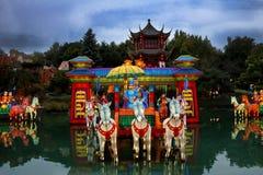 Chinesischer botanischer Garten von Montreal. Lizenzfreies Stockbild