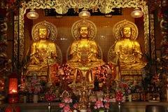 Chinesischer buddhistischer Schrein Stockbilder