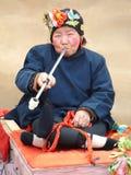 Chinesischer Dorf-Schauspielerin Stockbilder