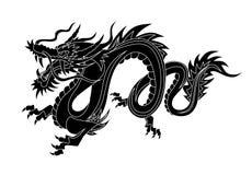 Chinesischer Drache Stockfotografie