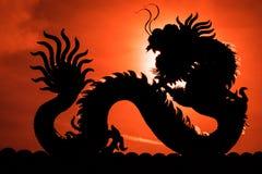 Chinesischer Drache stockfotos
