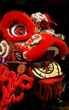 Chinesischer Drache an der neues Jahr-Feier Lizenzfreie Stockfotos