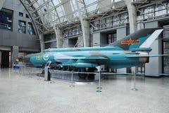 Chinesischer F-7III Strahlen-Kämpfer lizenzfreie stockfotos