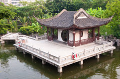 Chinesischer Garten Lizenzfreies Stockfoto