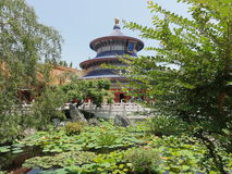 Chinesischer Garten Lizenzfreie Stockfotos