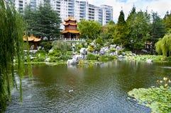Chinesischer Garten der Freundschaft stockfotografie