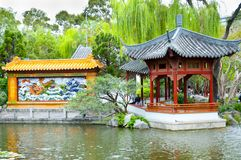 Chinesischer Garten der Freundschaft stockfotos