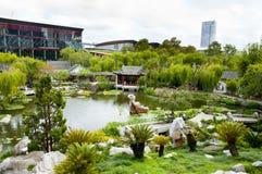 Chinesischer Garten der Freundschaft lizenzfreies stockfoto