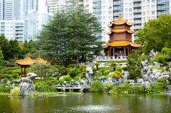 Chinesischer Garten der Freundschaft lizenzfreies stockbild