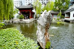 Chinesischer Garten der Freundschaft lizenzfreie stockbilder