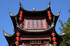 Chinesischer Garten im botanischen Garten von Montreal Lizenzfreies Stockbild