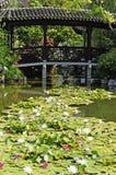 Chinesischer Garten in Portland Oregon Lizenzfreies Stockbild