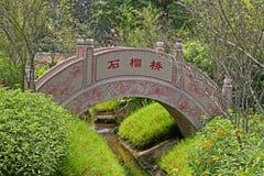 Chinesischer Garten in Singapur Stockfotos