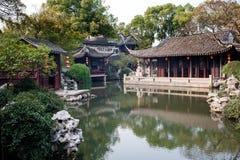 Chinesischer Garten in Suzhou Lizenzfreies Stockfoto