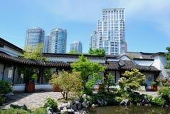 Chinesischer Garten Vancouver Lizenzfreie Stockfotos