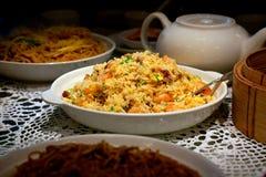 Chinesischer gebratener Reis Stockfoto
