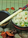 Chinesischer gebratener Reis Stockfotos