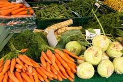 Chinesischer Gemüsemarkt Lizenzfreie Stockfotos