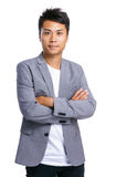 Chinesischer Geschäftsmann Stockfoto